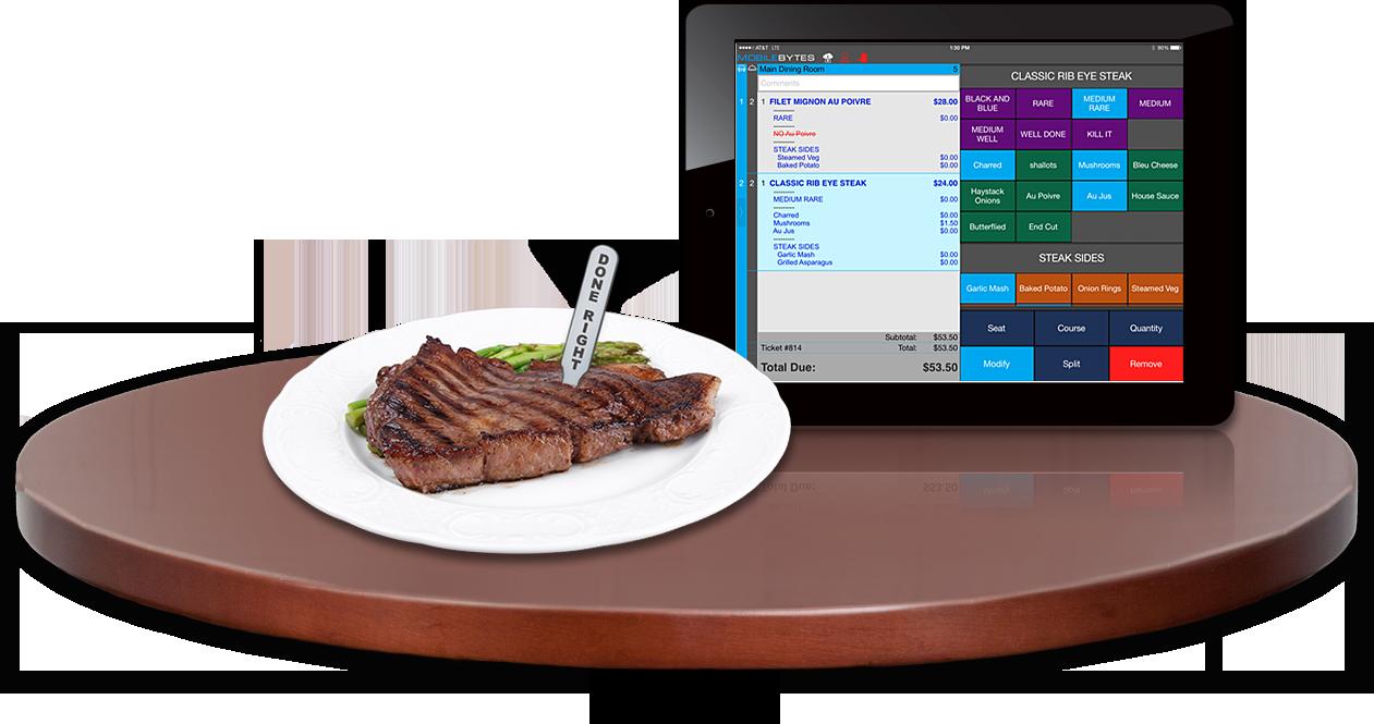 iPad POS for restaurant, Cloud POS for restaurant, POS for iPad, iPad POS