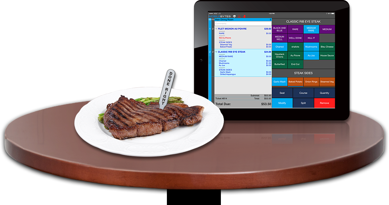iPad POS for restaurant, Cloud POS for restaurant, POS for iPad, iPad POS