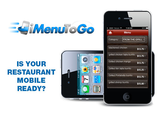 mobile POS for restaurants, mobile ordering for restaurants, dinerware